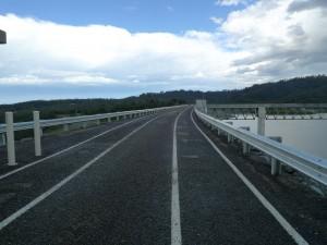Hinze Dam- Bike Track