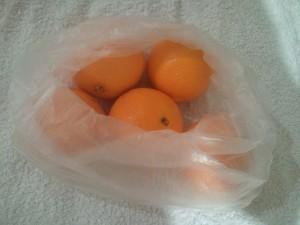 $1 kg per Orange @Coles
