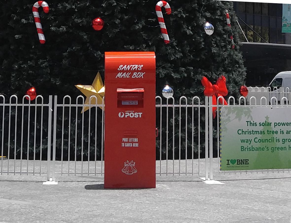 Postbox for Santa