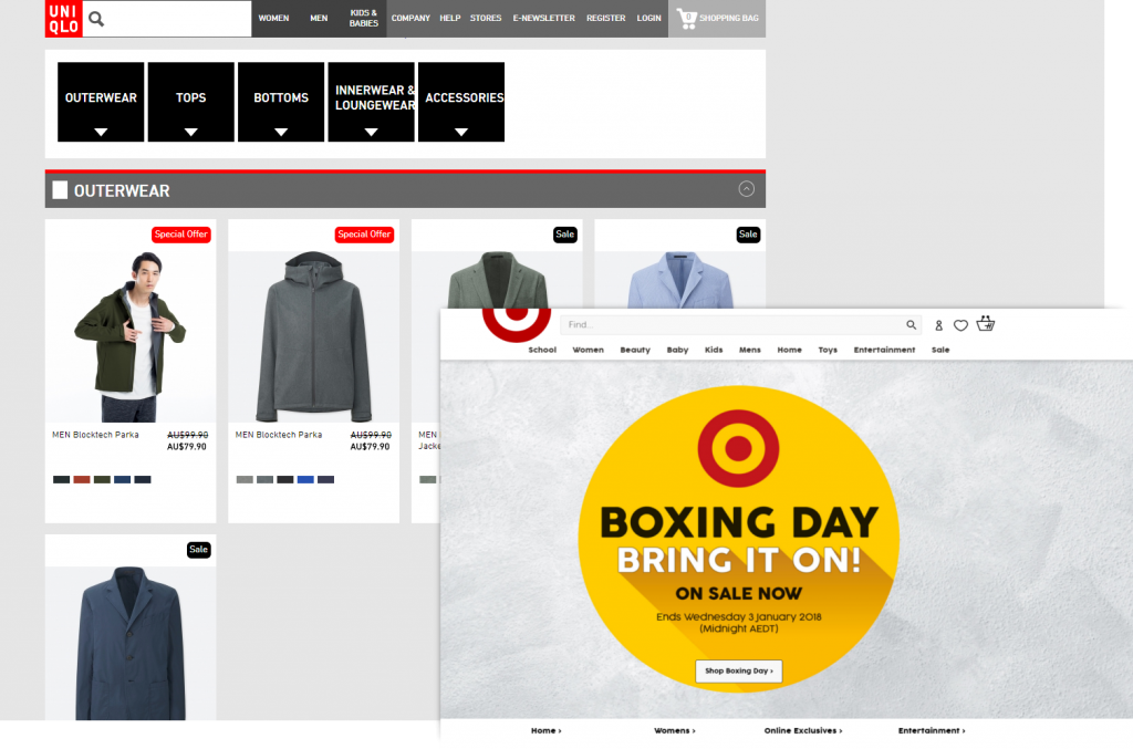 Boxing Day Sales Is On Now