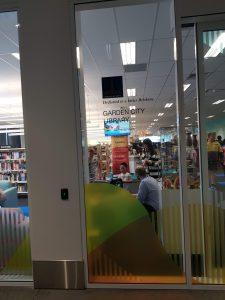 Garden City New Library Entrance