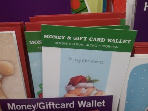 Christmas Money Wallet