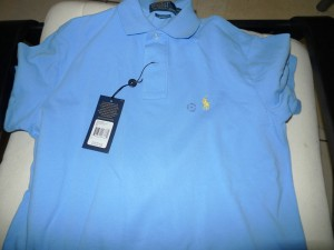Pure Color Polo T Shirt