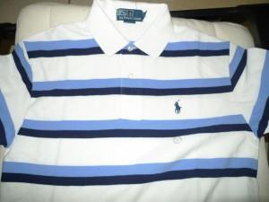 Printed Pattern Polo T-Shirt