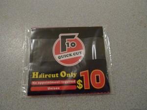 $10 Quick Cut