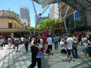 Queen Street Mall - Boxing day