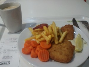 IKEA $3- Fish and Chips