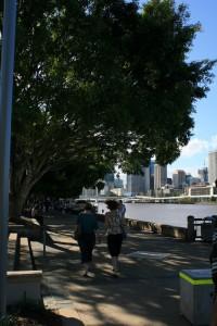 Riverside walk@Southbank