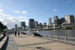 Southbank - Riverside Walking Track