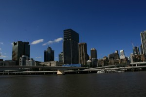 Brisbane City View from Southbank