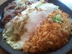 Chicken Burrito @ Montenzuma
