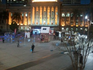 Emergency Shelter Exhibition@King George Square