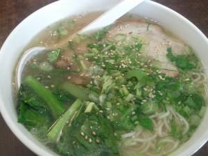 BBQ Pork Soup Noodle@Half Time Tea Bar