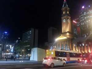 Brisbane City Hall@Night