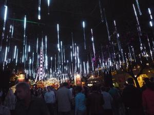 Brisbane Airport Light Garden
