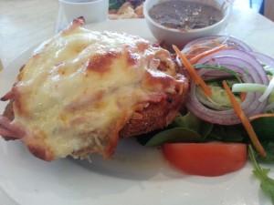 chicken schnitzel@Morrison Hotel