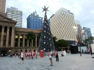 Xma@ King George Square