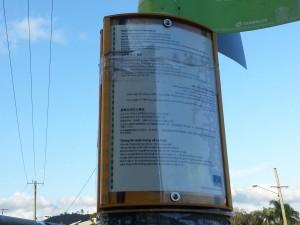 Multi-languages bus information
