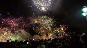 Brisbane 2014 New Year Firework