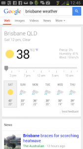 The hottest day on January in Brisbane ever