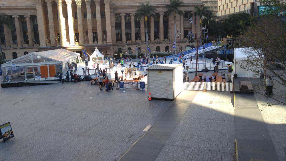 SkatingAt Festival(Winter Festival)