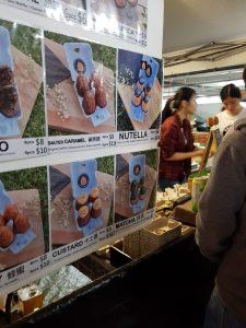 Taiwanese egg waffles.