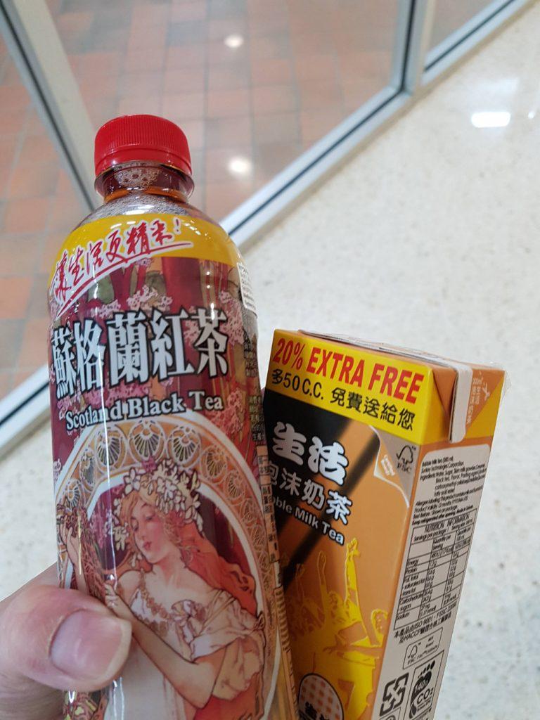 Taiwanese bottled drinks