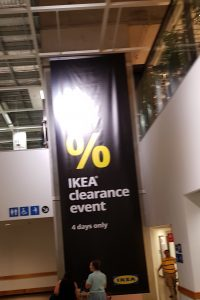 IKEA Clearance sale