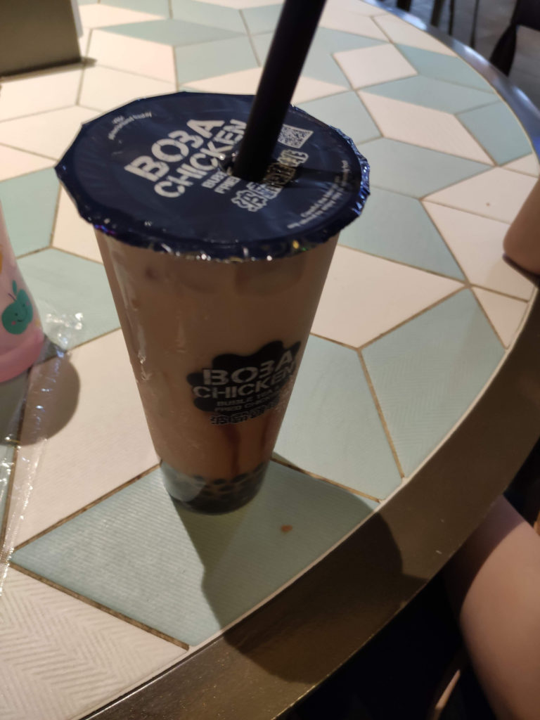 Bubble Milk Tea - Boba Chicken